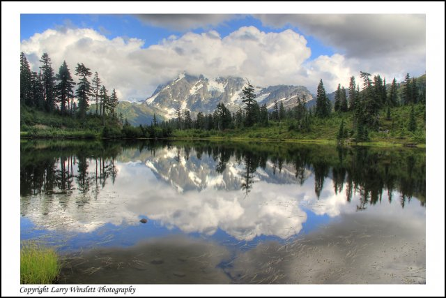 Mt. Shuksan 1 - North Cascades, Washington