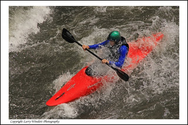 Kayaking on the Ocoee  1 - Tennessee