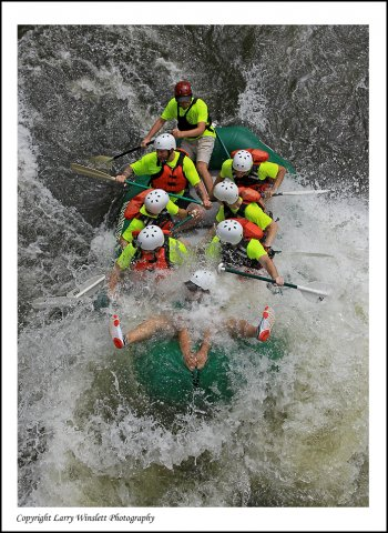 Rafting on the Ocoee - Tennessee